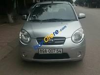 Cần tiền bán ô tô Kia Morning đời 2011, màu bạc
