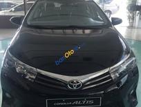 Cần bán xe Toyota Corolla altis 1.8 MT sản xuất 2017, màu đen