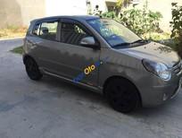 Cần bán Kia Morning AT 2009, màu xám xe gia đình