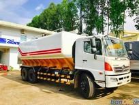 Bán xe bồn - xitec Hino FL8JTSA 3 chân thể tích 24,3 m3 bồn chở cám 2017 giá 1 tỷ 510 triệu  (~71,905 USD)