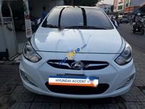 Bán Hyundai Accent 1.4 AT đời 2012, màu trắng, nhập khẩu chính hãng mới chạy 34000km, giá tốt