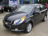 Bán ô tô Chevrolet Aveo 1.4L sản xuất 2016, màu đen