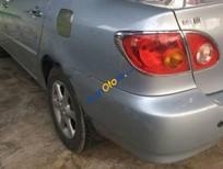 Cần bán gấp Toyota Corolla altis MT đời 2002, màu bạc, 279tr