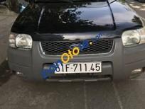 Bán ô tô Ford Escape XLT 2003, màu đen chính chủ