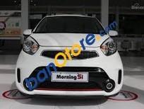 Bán ô tô Kia Morning Si sản xuất 2017, màu trắng, giá 416tr