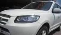 Bán xe cũ Hyundai Santa Fe sản xuất 2008, màu trắng