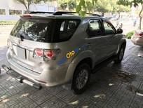 Bán Toyota Fortuner V 4x2AT đời 2013, màu bạc, 755tr
