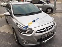 Cần bán Hyundai Accent 1.4AT 2011, màu bạc số tự động, giá chỉ 465 triệu