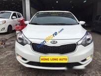 Cần bán xe cũ Kia K3 1.6 AT đời 2015, màu trắng, giá 605tr
