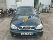 Bán Daewoo Lanos sản xuất 2003, màu xanh lam xe gia đình