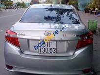 Bán Toyota Vios E 1.5MT đời 2015, màu bạc