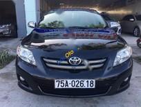 Bán xe cũ Toyota Corolla altis 1.8MT đời 2009, màu đen xe gia đình