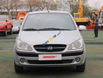 Bán Hyundai Getz 1.1MT năm 2009, màu bạc, xe nhập số sàn, giá chỉ 289 triệu