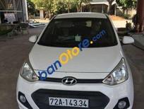 Cần bán xe cũ Hyundai i10 MT đời 2015, màu trắng số sàn, 370 triệu