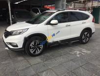 Cần bán gấp Honda CR V 2.4AT đời 2015, màu trắng