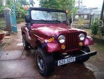 Bán xe Jeep CJ năm 1990, màu đỏ, nhập khẩu chính hãng số sàn, 79 triệu
