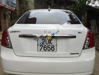 Cần bán Daewoo Lacetti EX 1.6MT đời 2004, màu trắng số sàn, giá tốt
