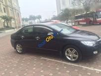 Cần bán Honda Civic 2.0AT đời 2007, màu đen số tự động