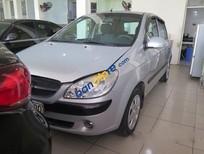 Bán Hyundai Getz MT đời 2010, màu bạc, giá tốt