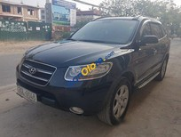 Cần bán gấp Hyundai Santa Fe MLX đời 2008, màu đen, nhập khẩu số tự động