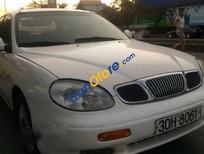 Cần bán lại xe Daewoo Leganza năm 2001, màu trắng