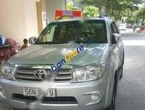 Cần bán lại xe Toyota Fortuner V sản xuất 2009, màu bạc số tự động, giá chỉ 610 triệu