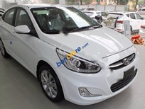 Bán xe Hyundai Accent 1.4 AT năm 2017, màu trắng, nhập khẩu chính hãng, giá tốt