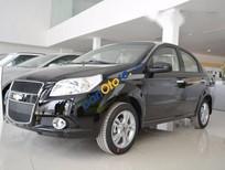 Cần bán xe Chevrolet Aveo MT đời 2016, màu đen