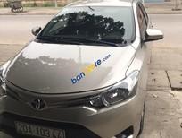 Bán Toyota Vios sản xuất 2014, màu bạc
