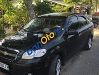 Bán nhanh xe Chevrolet Aveo MT đời 2013, màu đen số sàn, giá 315tr