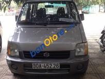 Cần bán Suzuki Wagon R đời 2005, màu bạc xe gia đình