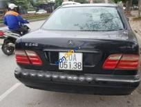 Lên đời bán xe Mercedes E240 đời 2002, màu đen, 225tr
