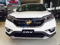Cần bán Honda CR V 2.4 TG năm 2017, màu trắng
