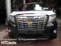 Cần bán xe Toyota Alphard năm 2017, màu đen, nhập khẩu