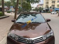 Bán Toyota Corolla altis 1.8G AT đời 2015, màu nâu chính chủ