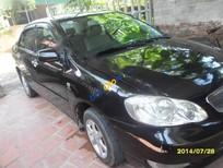 Xe Toyota Corolla altis 1.8G MT đời 2008, màu đen