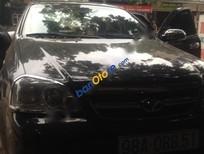 Bán xe Daewoo Lacetti MT 2009, màu đen chính chủ, 280tr