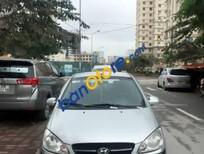 Bán ô tô Hyundai Getz 1.1 sản xuất 2010, màu bạc chính chủ giá cạnh tranh