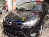 Bán xe cũ Toyota Vios 1.5E đời 2014, màu đen số sàn, giá 525tr
