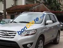 Bán ô tô Hyundai Santa Fe SLX đời 2010, màu bạc, nhập khẩu xe gia đình, 800 triệu