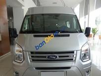 Bán Ford Transit Medium sản xuất 2017, màu bạc giá cạnh tranh