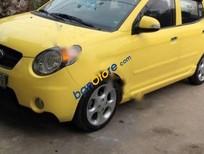 Bán lại xe Kia Morning SLX sản xuất năm 2008, màu vàng, nhập khẩu