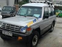 Cần bán xe Hyundai Galloper đời 1995, màu bạc, nhập khẩu