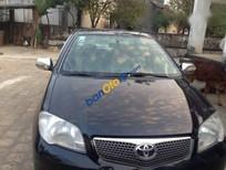 Cần bán lại xe Toyota Vios 1.5 G đời 2007, màu đen, 235tr