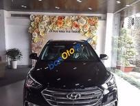 Cần bán Hyundai Santa Fe AT đời 2017, màu đen