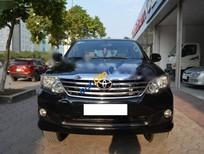 Cần bán lại xe Toyota Fortuner 2.5G năm 2012, màu đen số sàn, giá tốt