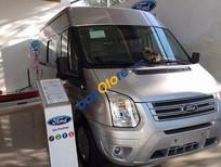 Cần bán Ford Transit Medium năm 2017, màu bạc, nhập khẩu, 805tr