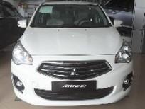Bán Mitsubishi Attrage đời 2017, màu trắng, nhập khẩu Thái, giá chỉ 516 triệu