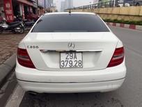 Bán Mercedes C200 2011, màu trắng, 820tr