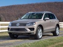 SUV cỡ lớn chinh phục mọi địa hình - Volkswagen Touareg GP màu vàng cát - Quang Long 0933689294